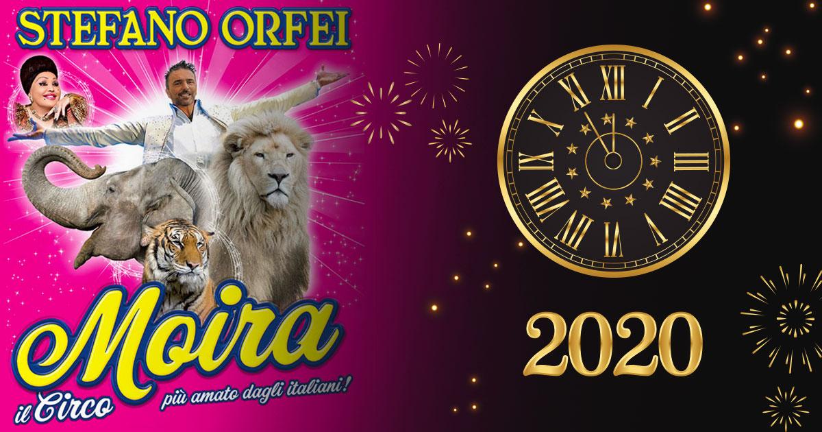 Capodanno Moira Orfei a Torino