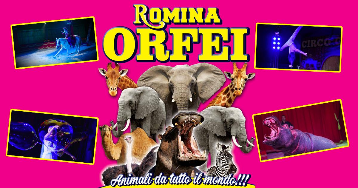 Circo Romina Orfei Biglietti